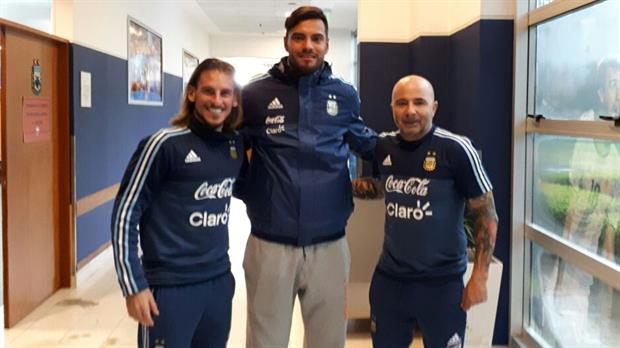 El Zurdo Sampaoli le mostró videos a Ever Banega